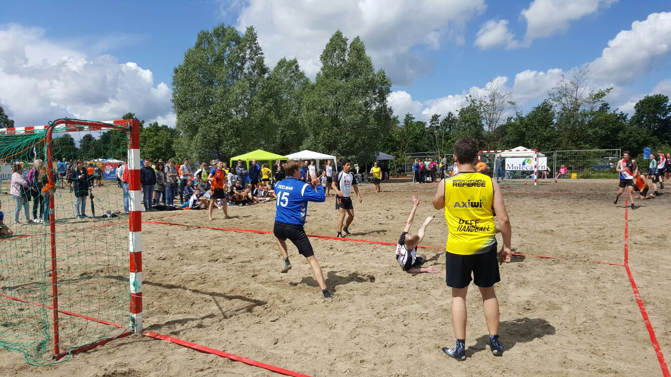 /wireless-communication-system-beach-handball-dutch-championship-axiwi