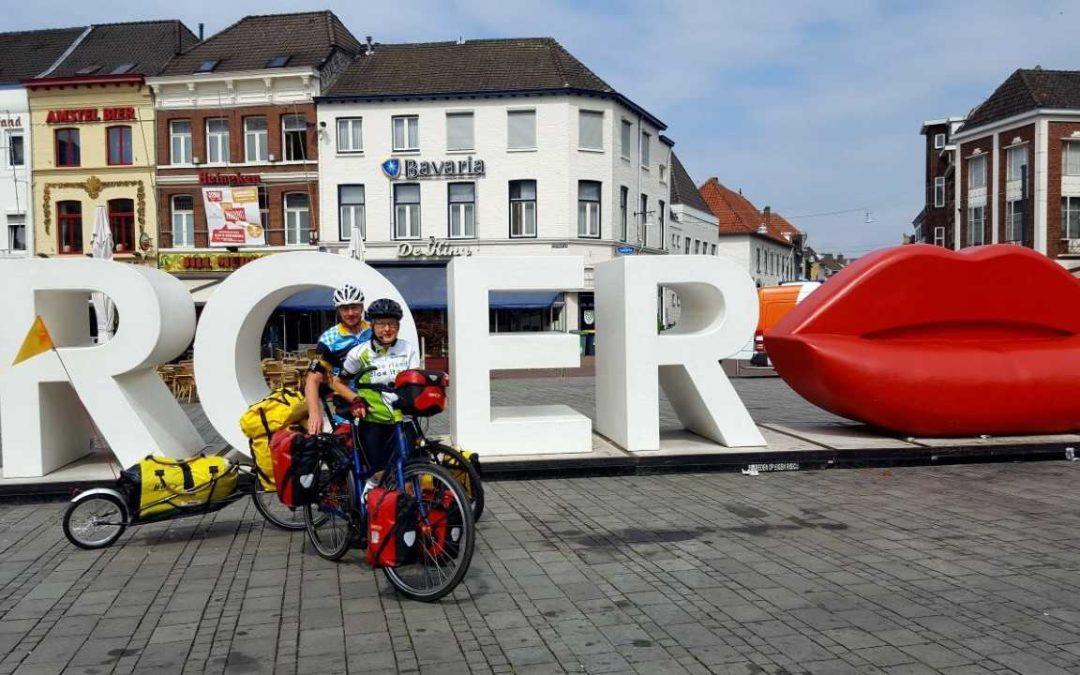 Nasze wakacje rowerowe po Europie rozpoczęły się, wraz z AXIWI